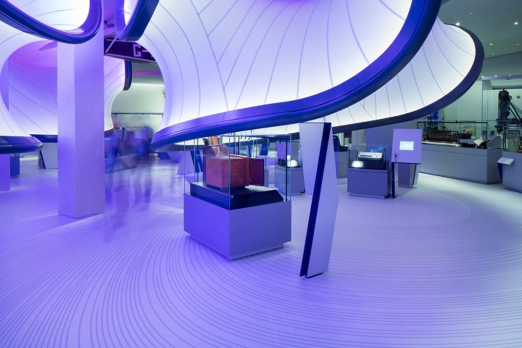数学画廊在科学博物馆展览设计的运用图片