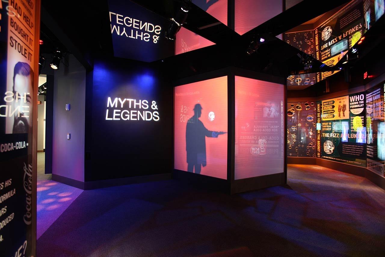 可口可乐品牌体验馆设计与创意展厅欣赏图片