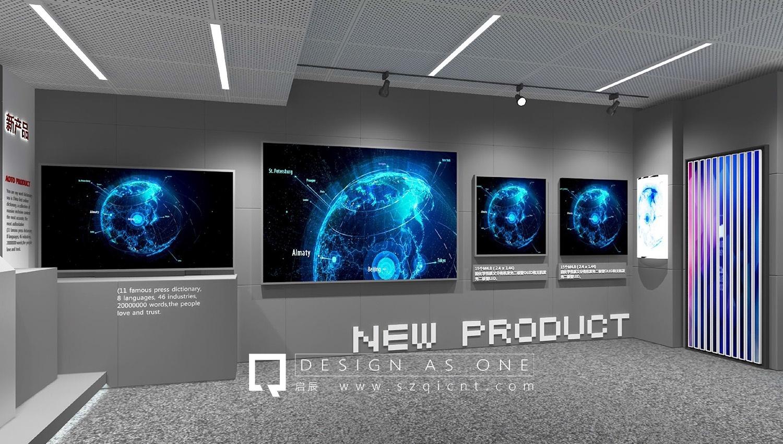 企业展厅装修设计效果图和注意事项