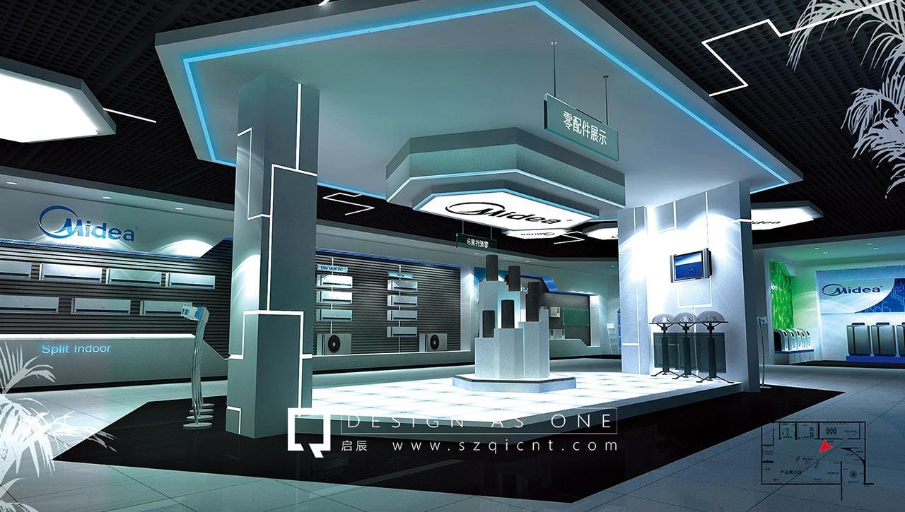 深圳展厅设计公司 展厅制作和装修展厅中应该注意的