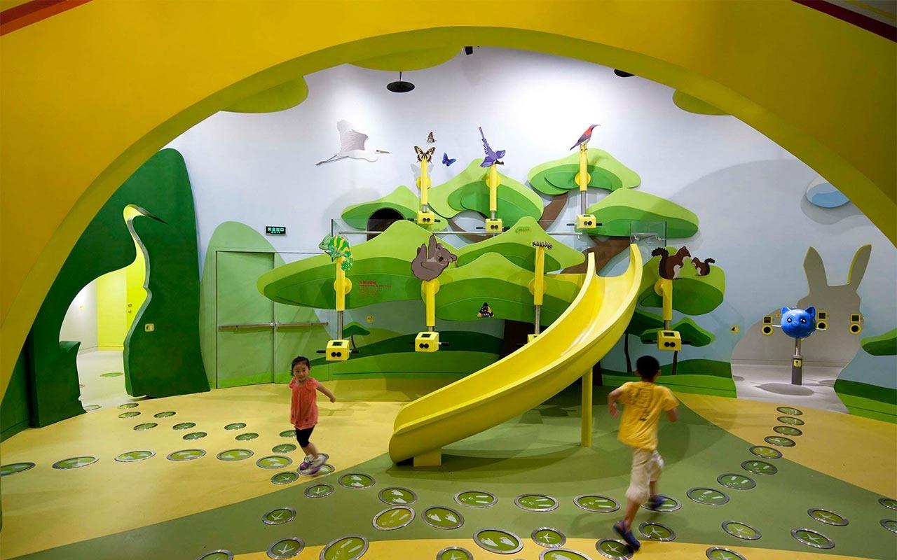 儿童彩虹乐园科技馆博物馆设计